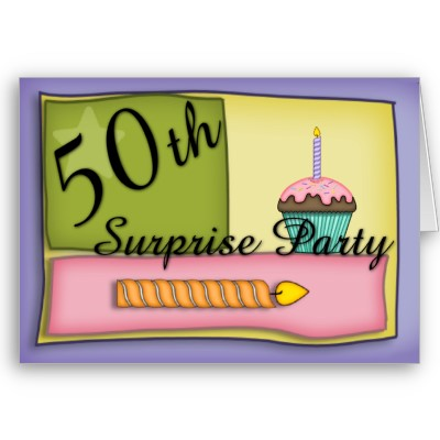50th birthday party invitations. 50th birthday got squashed
