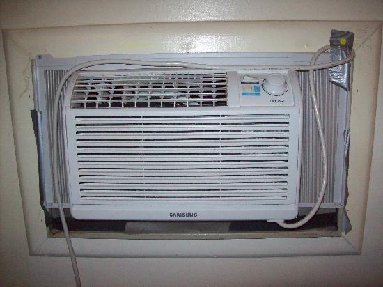 air conditioner too small